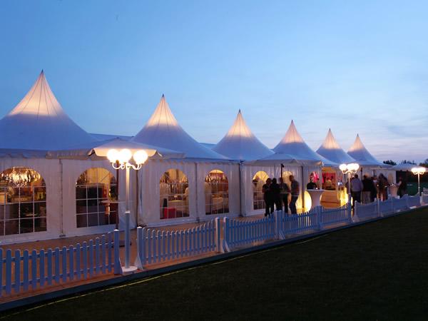 Exklusive Zelte von Lönne