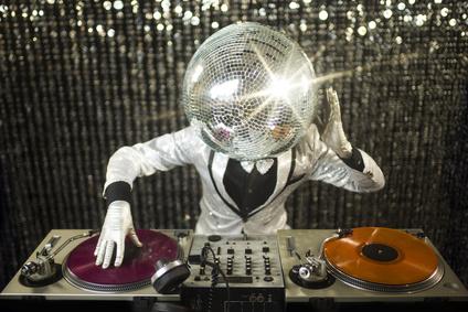 Musikanlage und DJ