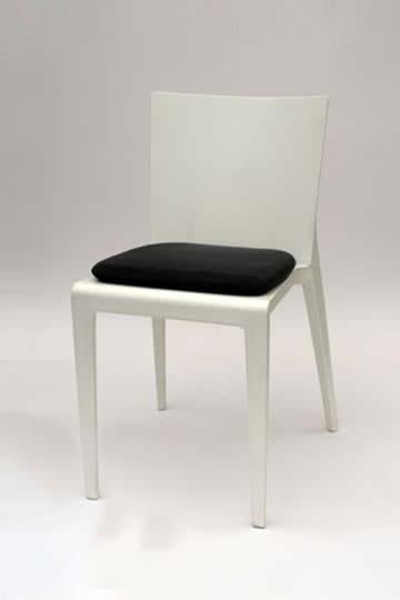 Premiumstuhl mit Sitzkissen